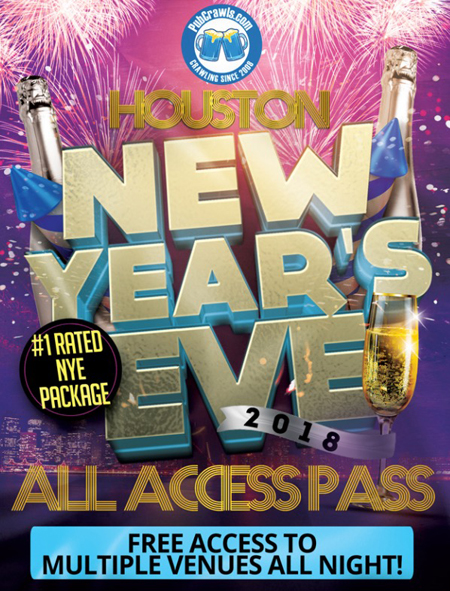 All Access Pass New Years Eve