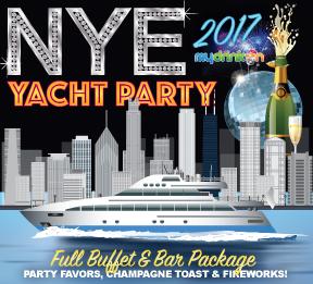 Anita Dee II Yacht New Years Eve