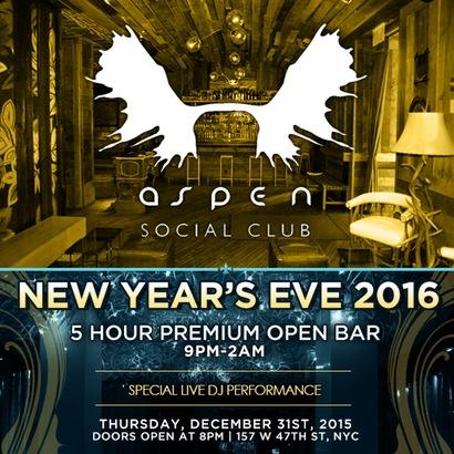 Aspen Social New Years Eve