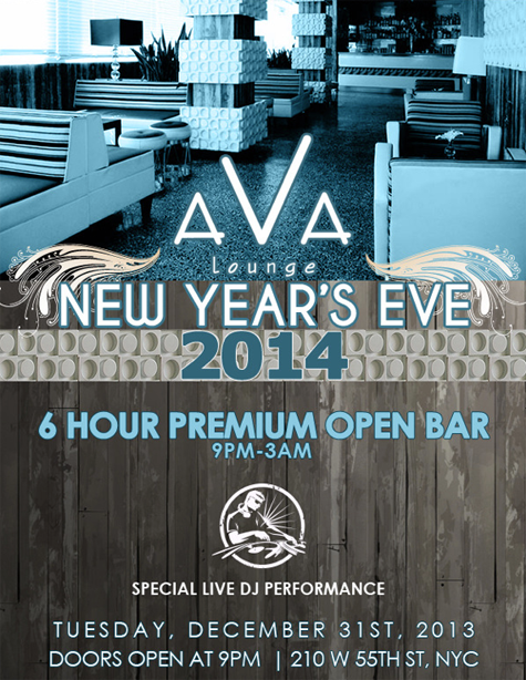 Ava Penthouse New Years Eve