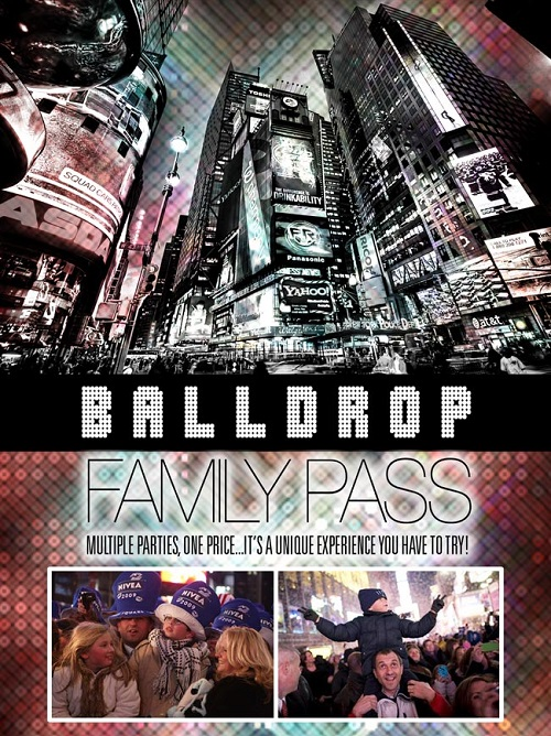 Times Square Family Pass New Years Eve
