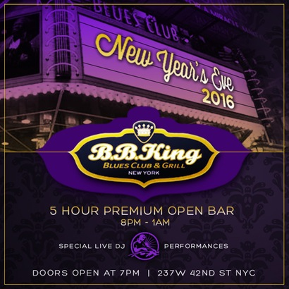 BB King New Years Eve