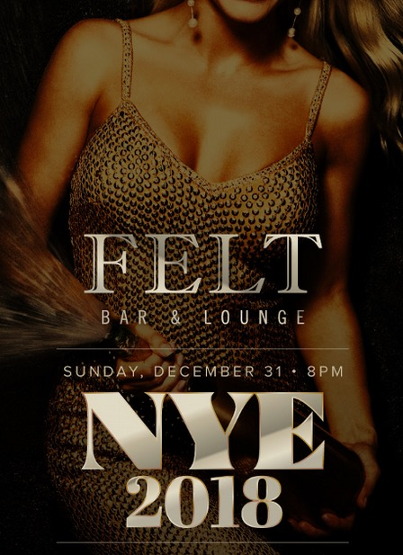 Felt Bar / Blossom Lounge New Years Eve
