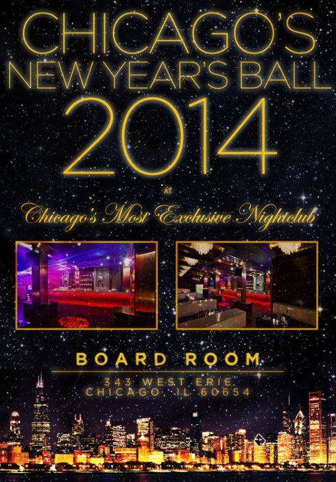 Board Room New Years Eve