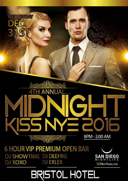 The Bristol Hotel New Years Eve