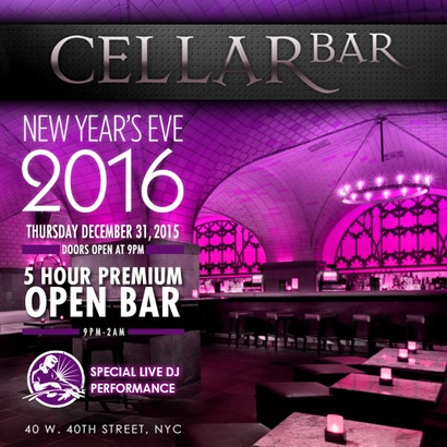 Cellar Bar New Years Eve