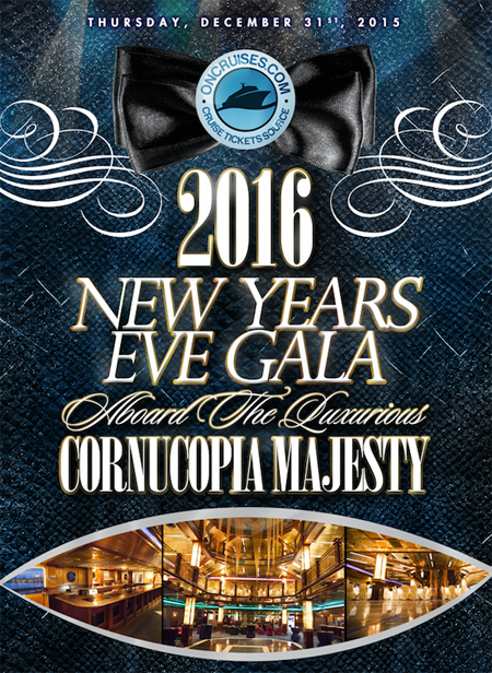 Cornucopia Majesty New Years Eve
