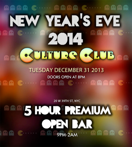 Culture Club New Years Eve