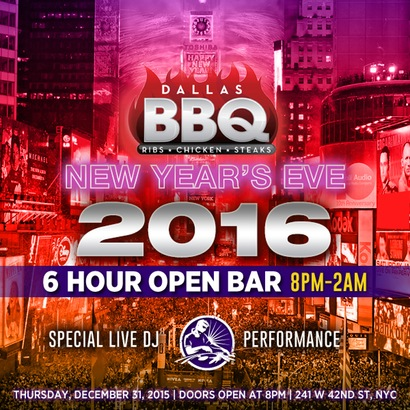 Dallas BBQ New Years Eve