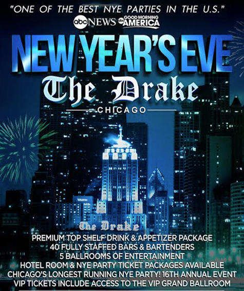 Drake Hotel New Years Eve