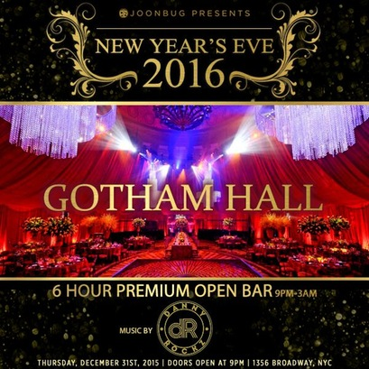 Gotham Hall New Years Eve