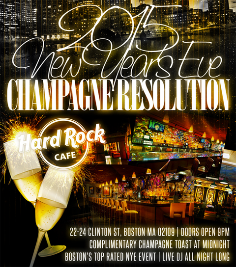 Hard Rock Cafe New Years Eve