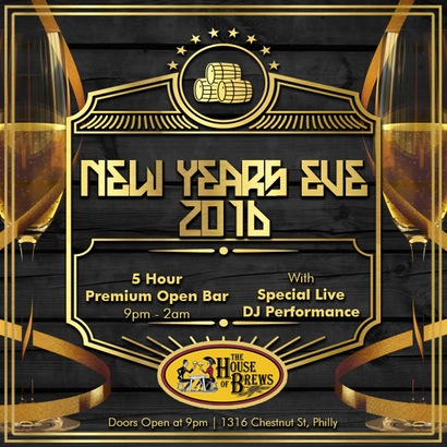 House of Brews New Years Eve