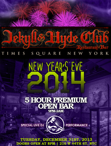 Jekyll and Hyde New Years Eve