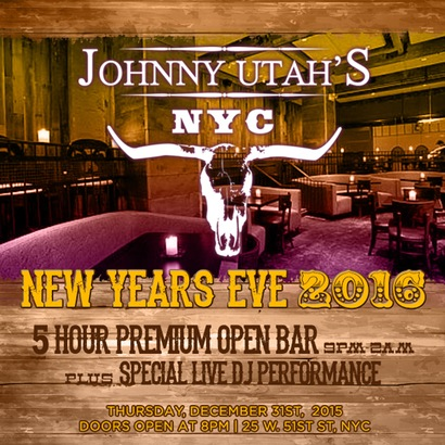Johnny Utah's New Years Eve