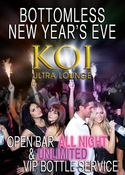 Koi Ultra Lounge New Years Eve
