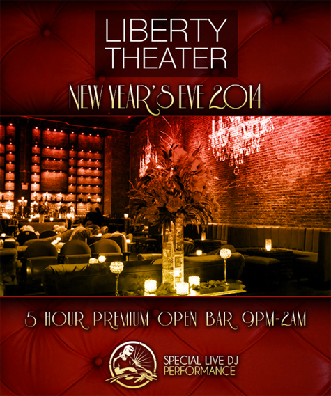Liberty Theater New Years Eve