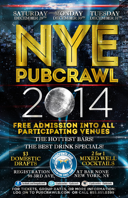 Various Venues New Years Eve