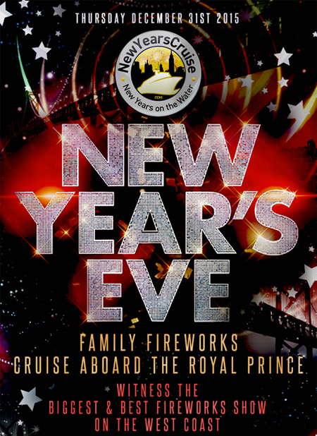 Royal Prince Yacht New Years Eve