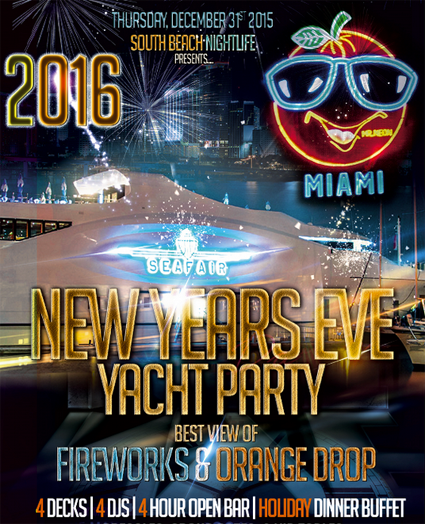 SeaFair Mega Yacht New Years Eve