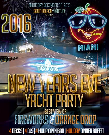 SeaFair Mega Yacht New Years Eve