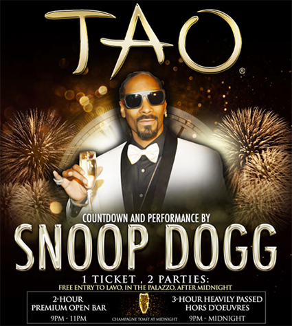 TAO New Years Eve