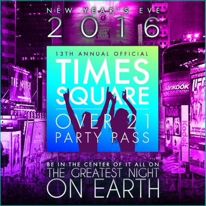 Times Square Party Pass New Years Eve