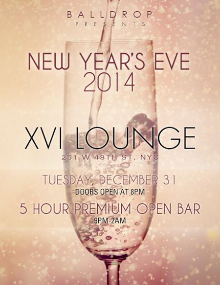 XVI Rooftop Lounge New Years Eve